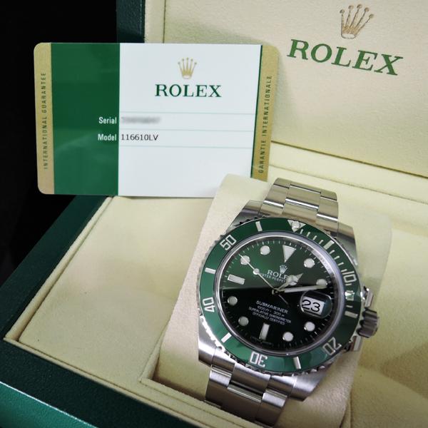 newest 72859 0a7a5 新品】ロレックス ROLEX サブマリーナ グリーンサブ 116610LV ...